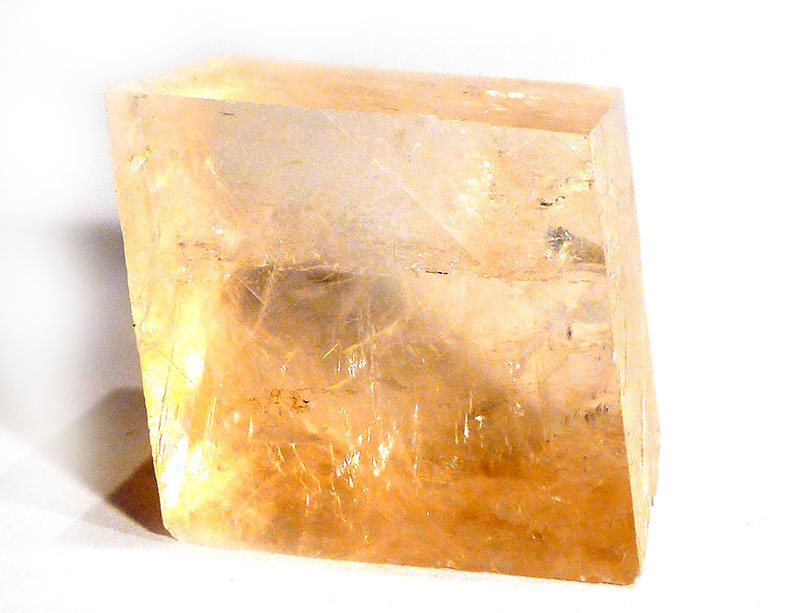 Yellow Optical Calcite Crystal