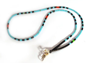 Zuni Heishi Necklace, single strand