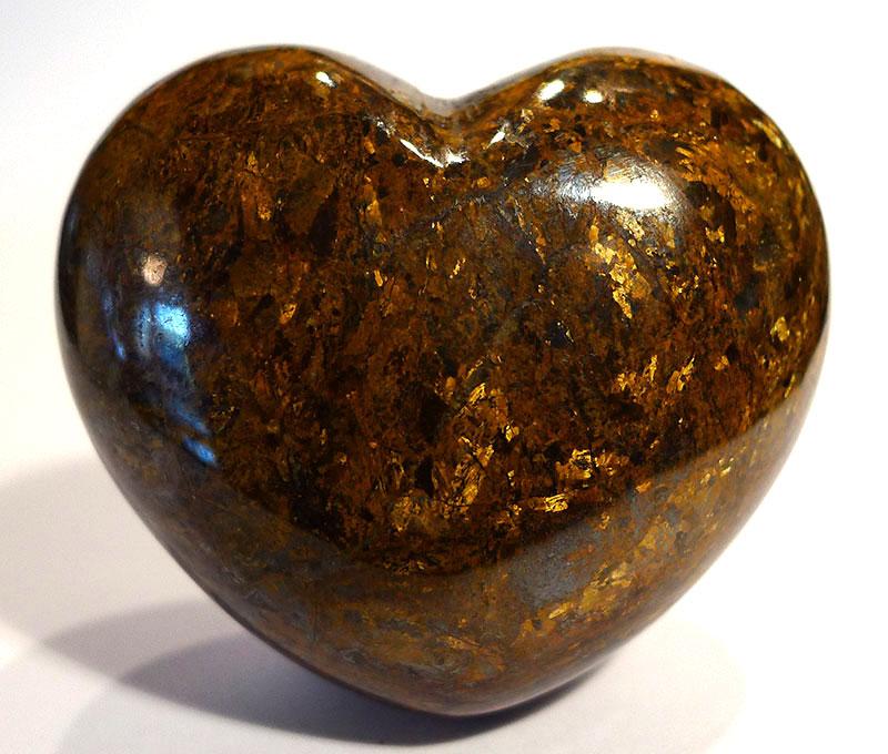 Bronzite Heart 1