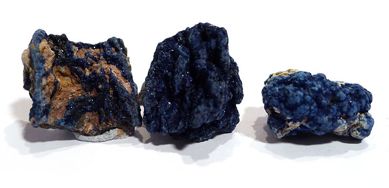 Azurite, rough