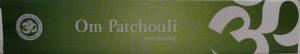 Om Patchouli Incense