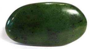 Nephrite Jade Palm Stone, non-standard