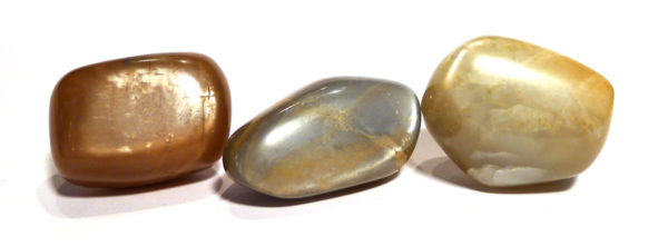 Multicoloured Moonstone Tumble Stone 1