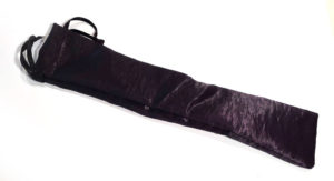 Black Satin Pouch for Wand