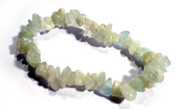 Aquamarine Chip Bracelet 1