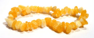 Orange Calcite Chip Bracelet