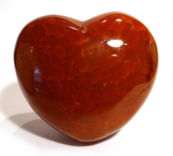 Fiery Carnelian Heart 1