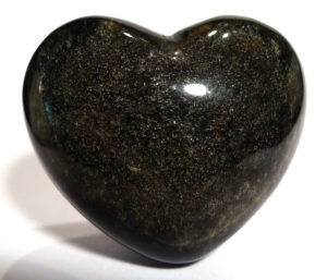Sheen Obsidian Heart