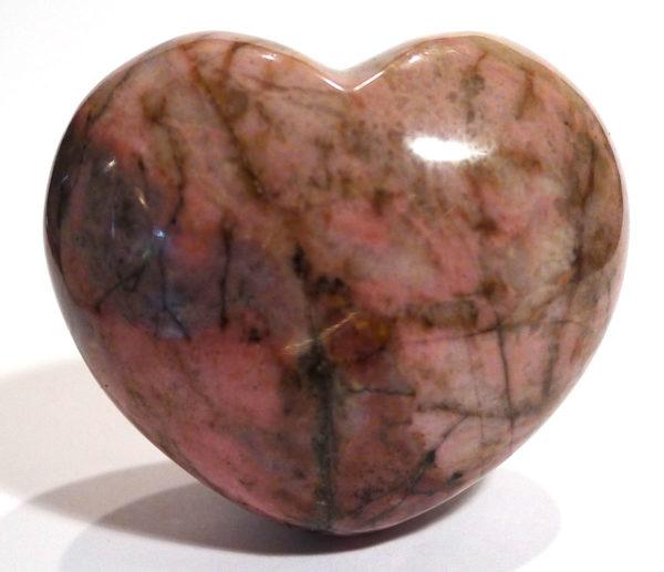 Rhodonite Heart 1