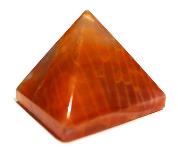 Fiery Carnelian Pyramid 1