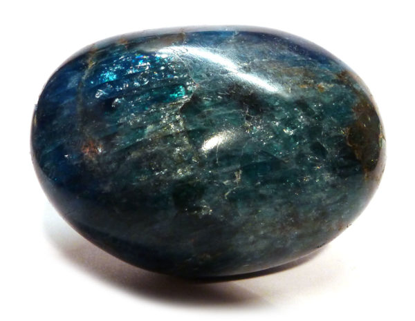 Lightening Blue Apatite Pebble 2