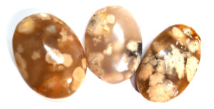 Cherry Blossom Agate Pebble 5