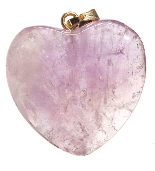Amethyst Heart Pendant 1